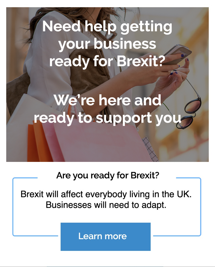 pop up brexit